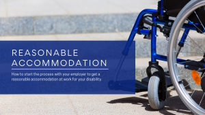 disability and reasonable accommodation