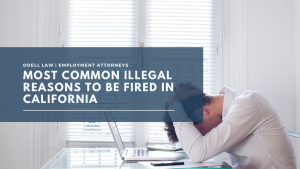 most common illegal reasons to be fired