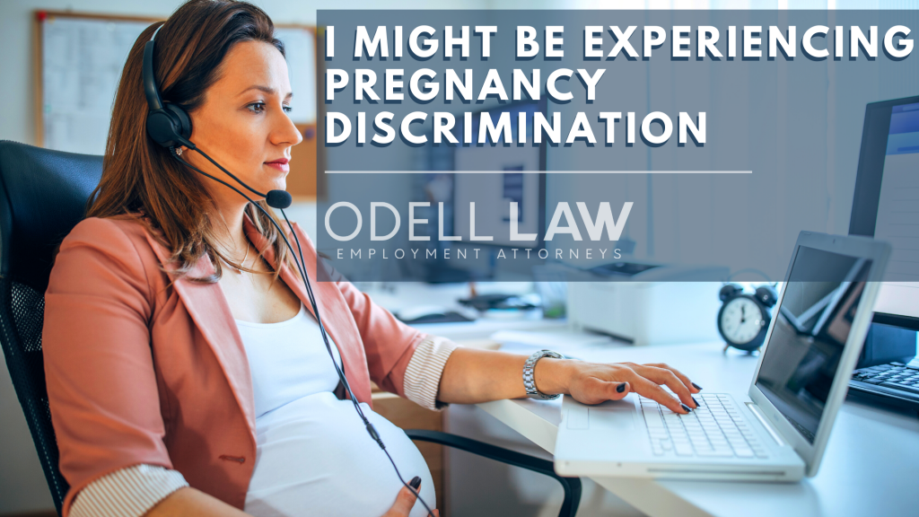 pregnancy discrimination at work